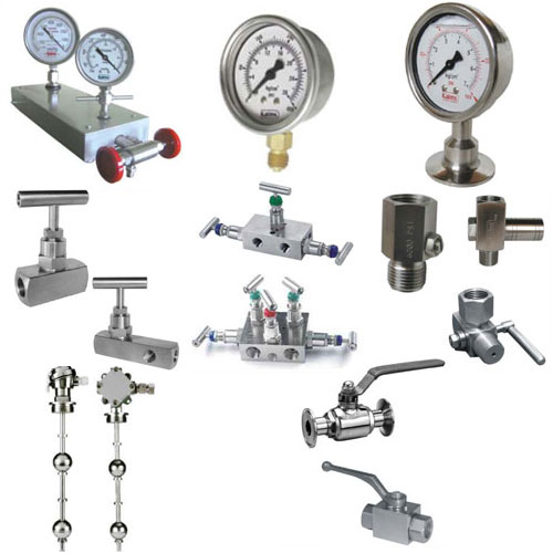 PRESSURE MEASURING AND CONTROLLING INSTRUMENTS